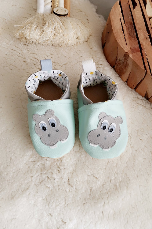 Chaussons Hippopotame