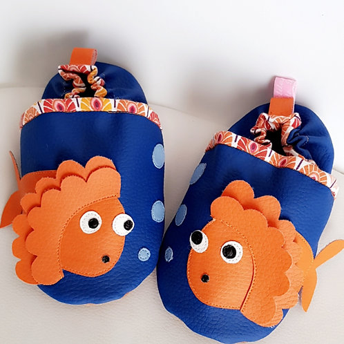 Chaussons Poissons bulles