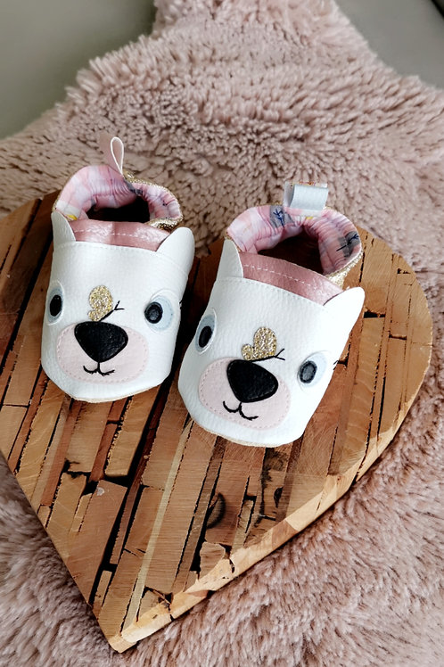 Chaussons Ourson fille