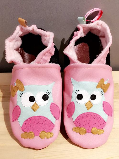 Chaussons Hibou fille