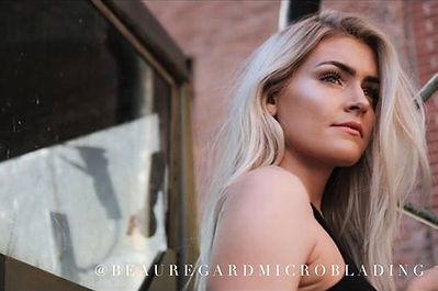 Microbladed eyebrow's by Beau Regard Microblading Cincinnati