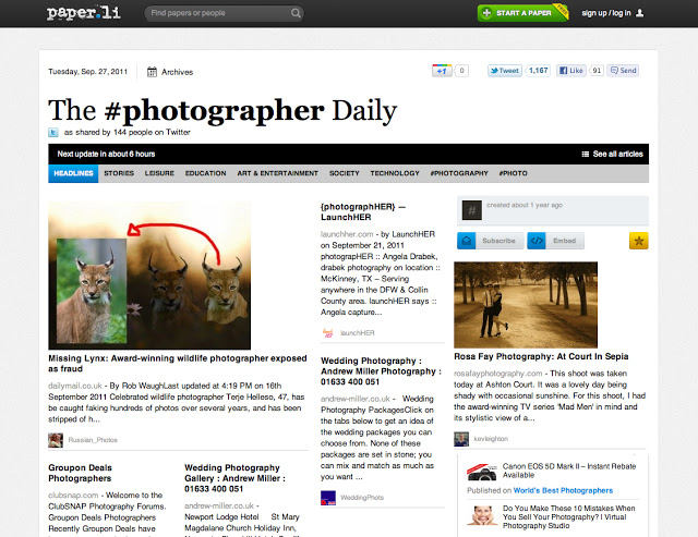 The #Photographer Daily