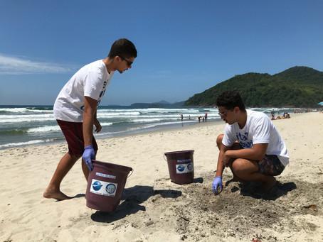 Dia da Limpeza de Praia em Itamambuca