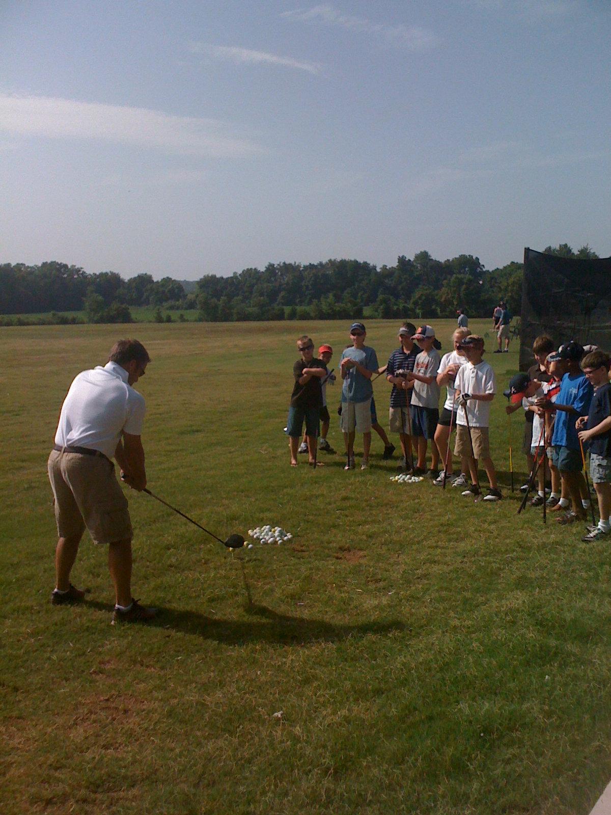 Junior Discover & Develop Golf Camp