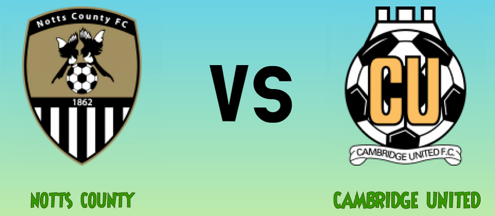 megajackpot prediction - Notts County vs Cambridge United