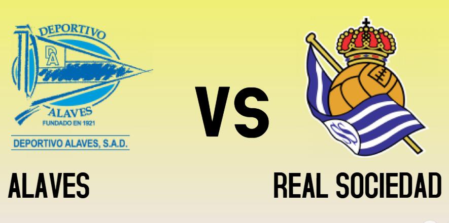 ALAVES vs REAL SOCIEDAD match sure bet prediction - logos