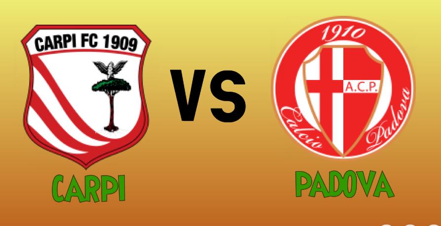 Carpi vs Padova match Prediction - logos
