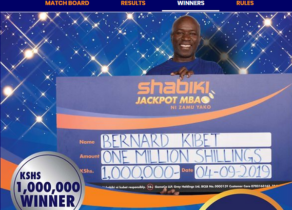 Shabiki jackpot prediction