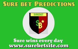Top 5 Sure bet predictions today 6th June 2019