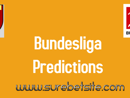Bundesliga Predictions Today