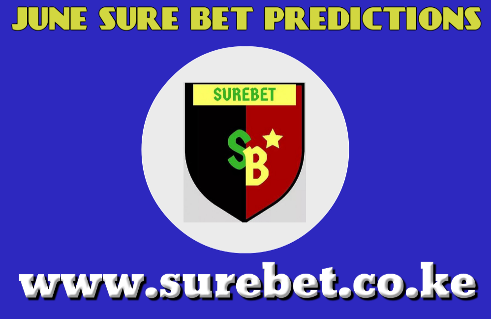Sure bet prediction for June