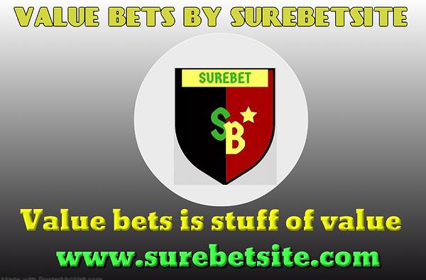 Value bets site surebetsite