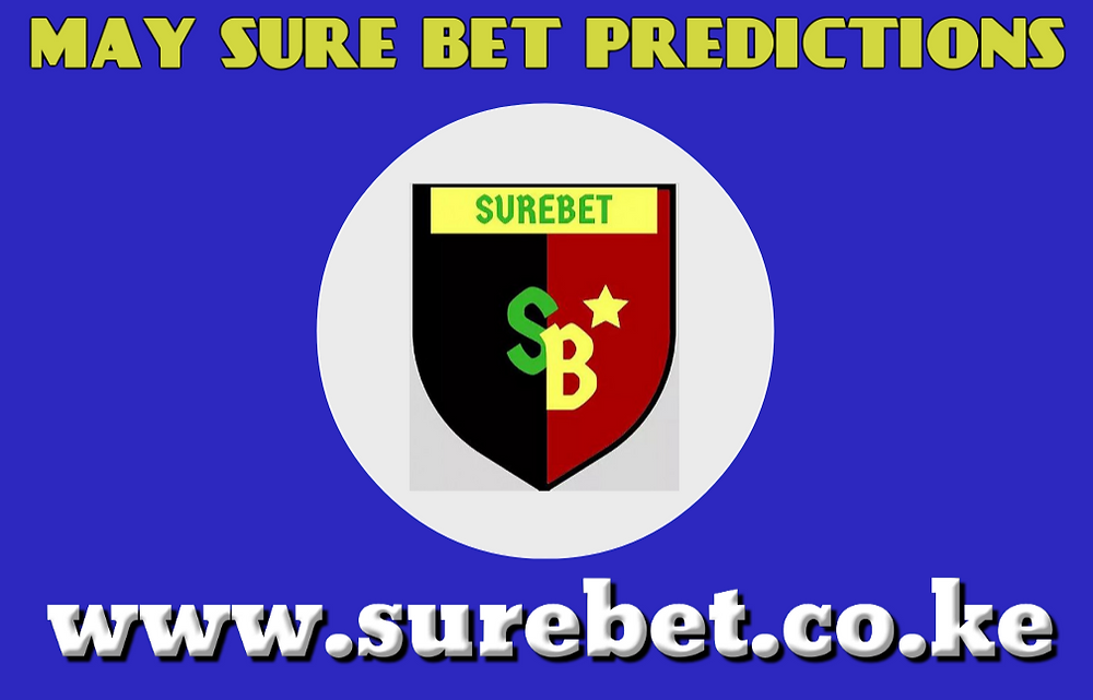 Sure bet prediction for May
