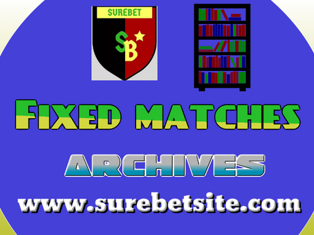 Fixed Matches Archives April 2021
