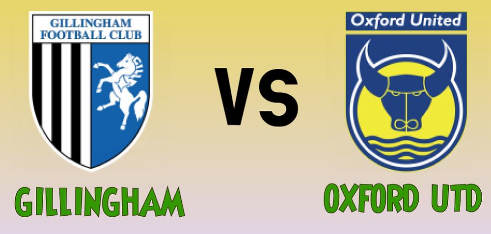 GILLINGHAM VS OXFORD UTD MEGA JACKPOT PREDICTIONS