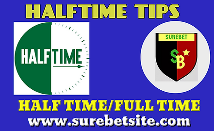 Half time tips & Predictions