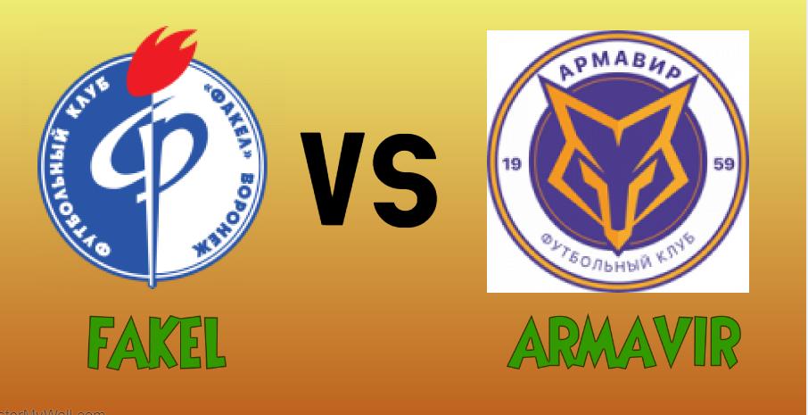 Fakel vs Armavir match Prediction - logos