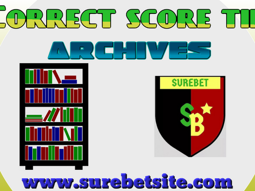 Correct Score Prediction Archives April 2021