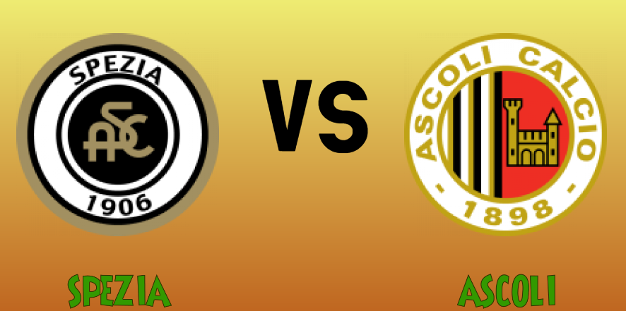 Specia vs Ascoli match Prediction - logos