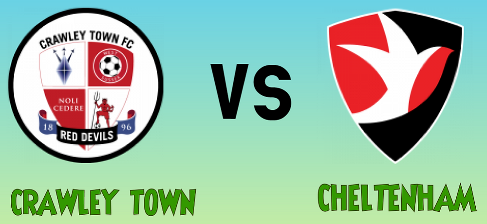 Crawley Town Vs Cheltenham