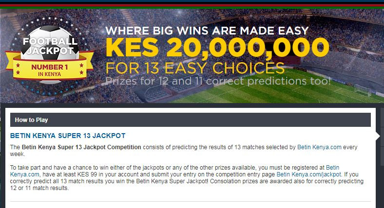 Betin jackpot screenshot