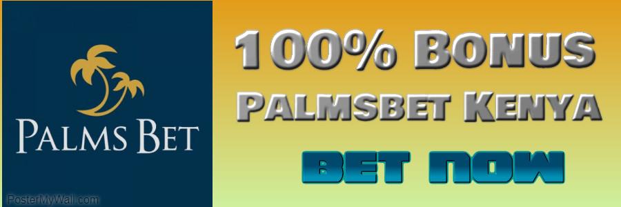 palmsbet banner 100% bonus