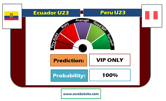 Ecuador U23 vs Peru U23 Prediction