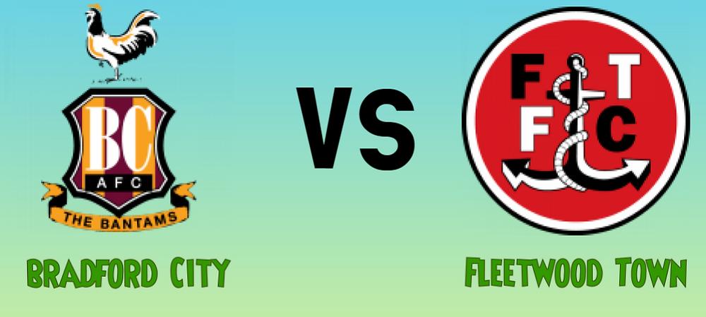 Bradford City vs Fleetwood Town mega jackpot prediction