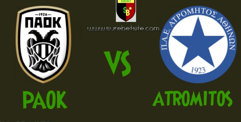 PAOK vs Atromitos match banner