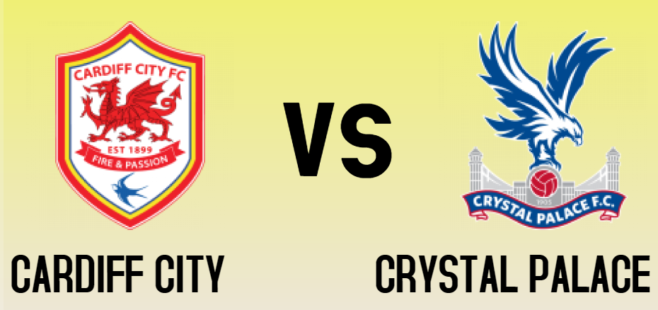 CARDIFF CITY vs CRYSTAL PALACE match sure bet prediction - logos