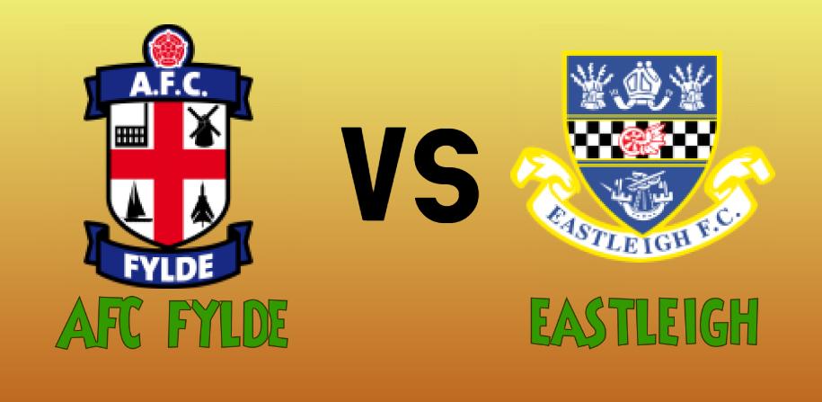 AFC Fylde vs Eastleigh match Prediction - logos