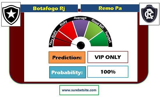 Botafogo Rj vs Remo Pa Prediction