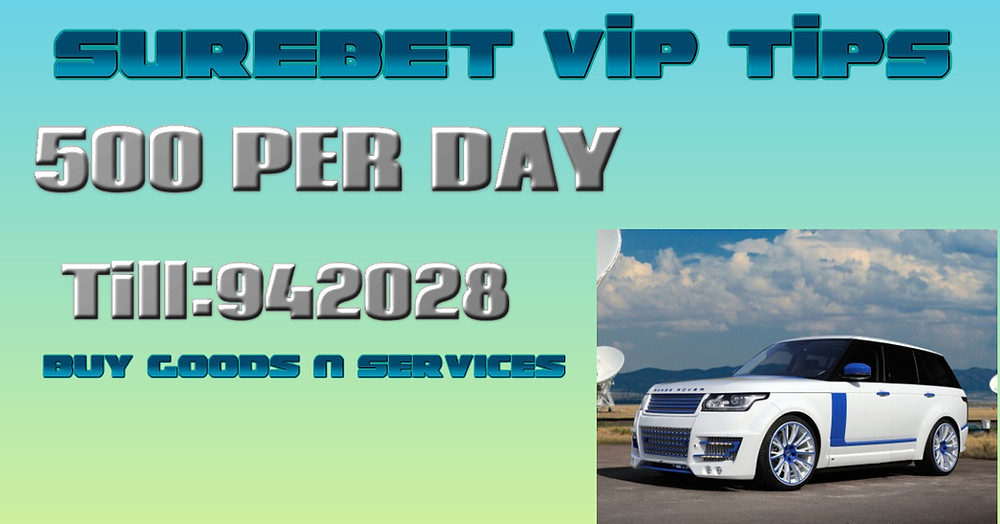 VIP tips on Surebet Kenya
