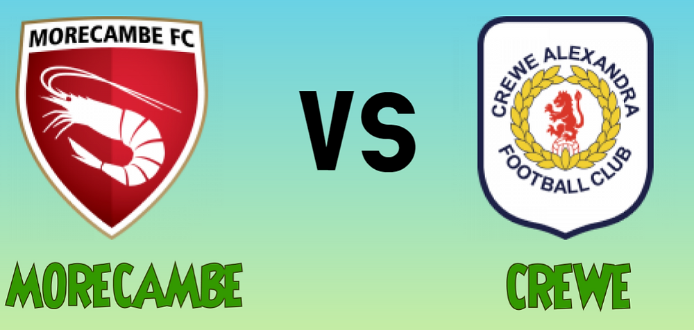 Morecambe Vs Crewe