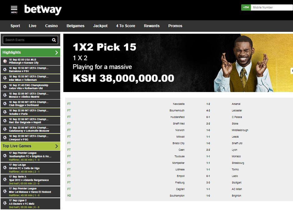Betway tips and jackpot prediction