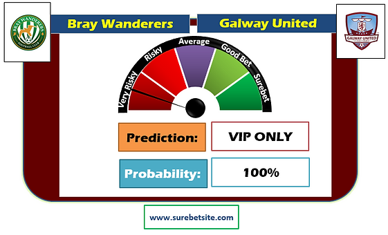 BRAY WANDERERS vs GALWAY UNITED SURE PREDICTION