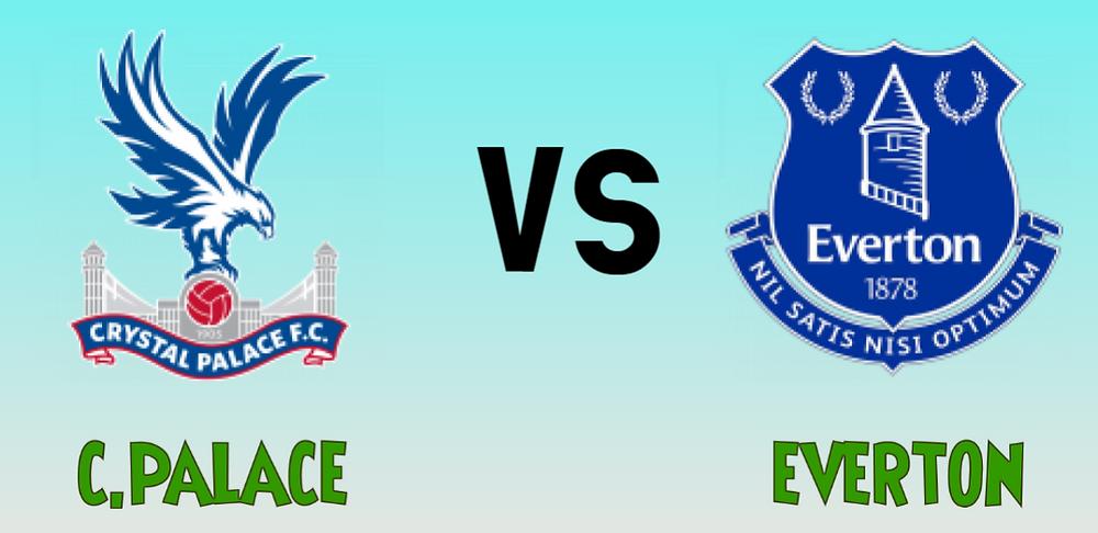 Crystal Palace vs Everton jackpot prediction