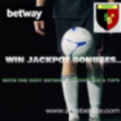 Betway Jackpot prediction & Tips