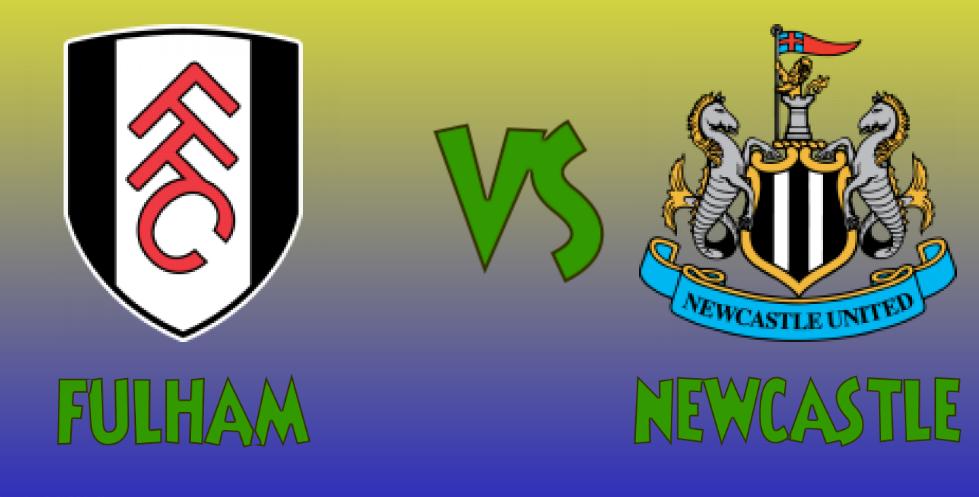 Fulham vs Newcastle match banner