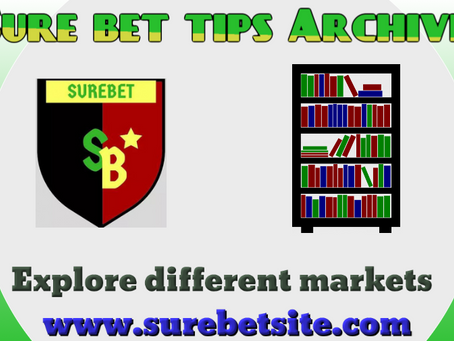 Sure Bet Tips Archives April 2021