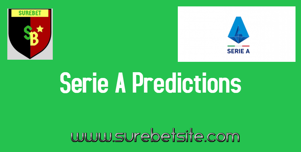 Serie A predictions today