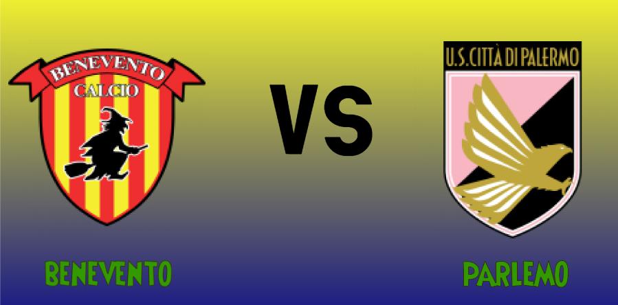 Benevento vs Palermo match Prediction - logos
