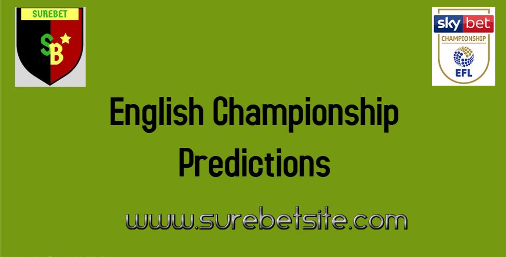 English Championship Predictions Today
