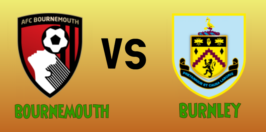 Bournemouth vs Burnley match Prediction - logos