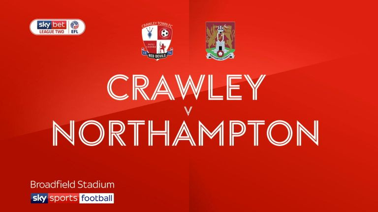 Crawley Town Vs Northampton banner