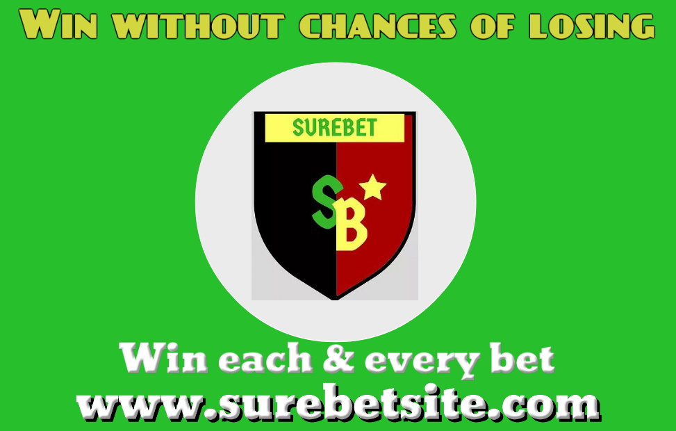 Win without losing - sure bet preditions