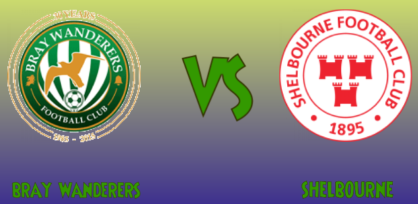 BRAY WANDERERS vs SHELBOURNE match sure bet prediction - logos