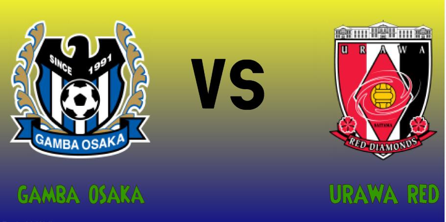 Gamba Osaka vs Urawa Red match Prediction - logos