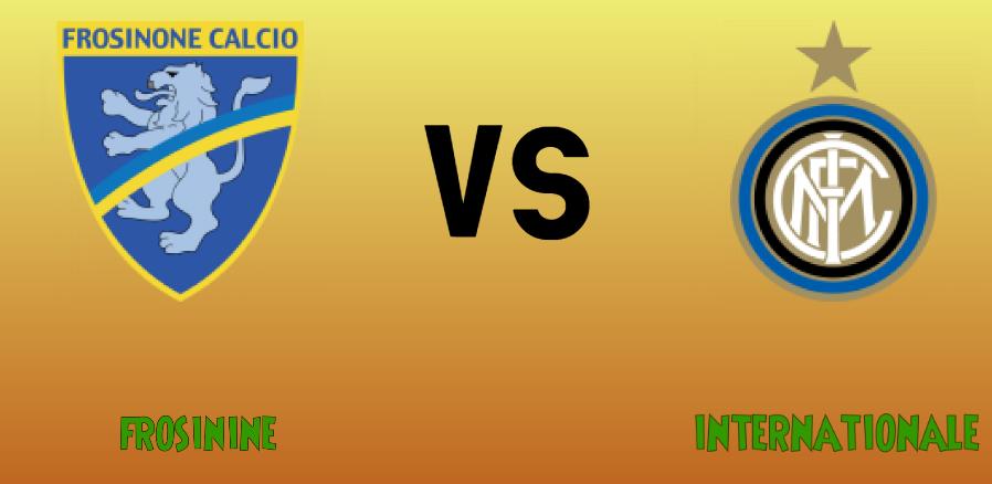 Frosinine vs Internationale match Prediction - logos