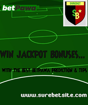 Betpawa Jackpot Tips - predictions